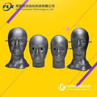 欧标人头模型 眼镜测试人头 棱镜度测试欧标人头