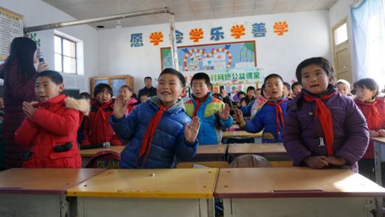 """走进甘肃""""阳光课堂""""共享优质教育资源"""