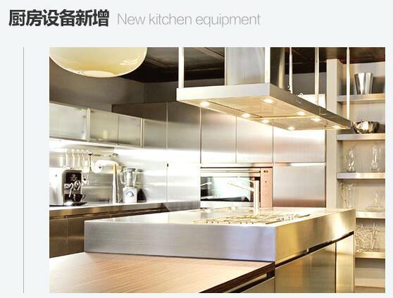 厨房设备新增、改造、扩容方案