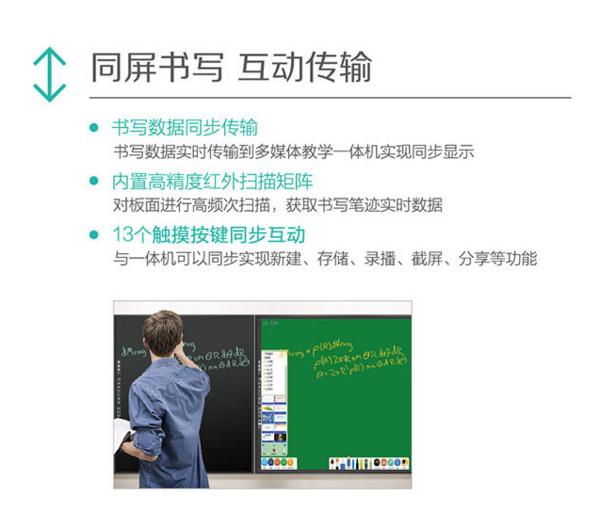 信息化教室里的新装备:Howeasy Board 智能液晶压感黑板