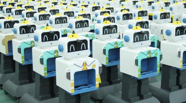 又获奖啦!沃柯雷克晨检机器人喜提2020人工智能示范项目奖!