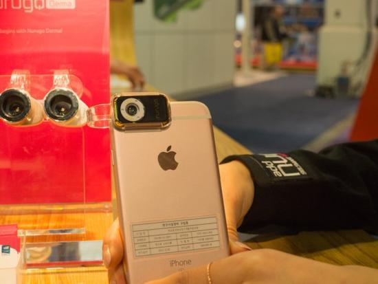 Nurugo Micro :全球最小的智能手机显微镜