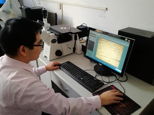 河南工程学院机实验室金相显微镜安装调试成功
