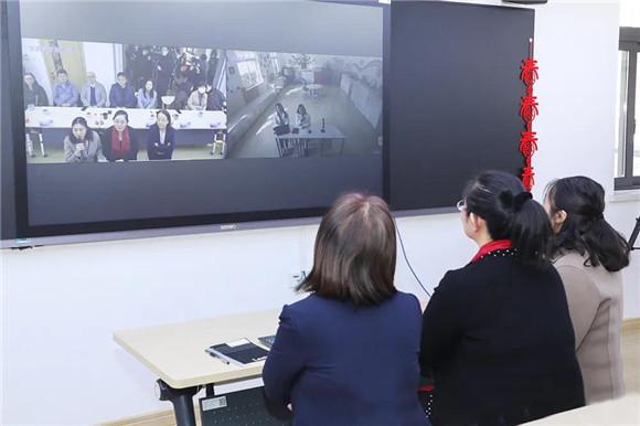 虹口区信息技术支持下的特殊教育新型教与学模式网络教研实践活动举行-信息赋能新特教 助推融合教与学