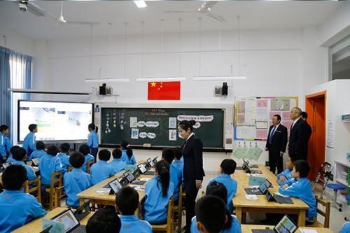 融合信息技术 推动教育变革——第二届中小学信息技术与教学融合创新课例展示成功举办