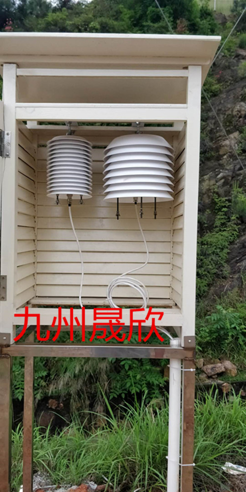 唐山市自动气象预警系统安装完毕
