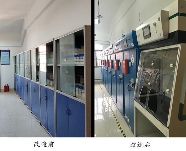 云南省高校首家智能化化学品中转站在云大落成