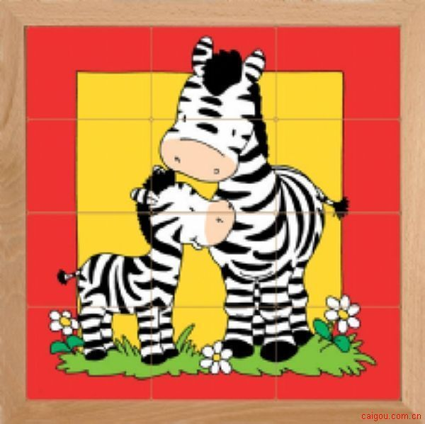 动物母子亲情系列-斑马