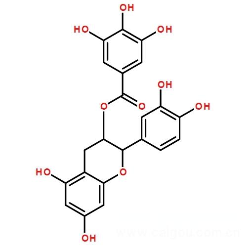 儿茶素没食子酸酯,130405-40-2,Catechin gallate
