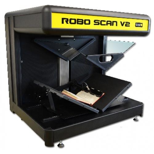 全自动翻页书刊扫描仪