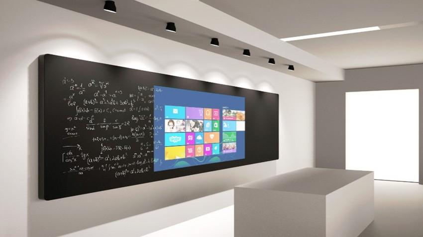 纳米智控黑板 智能教室互动黑板 智慧教学互动黑板 智能黑板
