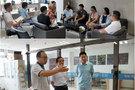 """蚌埠学院文学与教育学院开展""""教授博士企业行""""活动"""