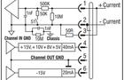 输入线缆670-807(模拟模块)与传感器接线