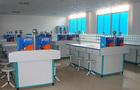 上海同育新型铝木结构豪华型会计实验桌
