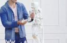 大学生创客3D打印机器人 还会跳舞哦