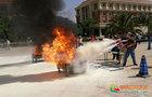 云南大学举行消防安全培训及应急演练