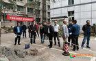 西南医科大学副校长聂敏海带队检查学生返校复学后勤准备等疫情防控工作