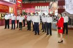 河海大学组织参观中国共产党在江苏历史展
