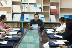 甘肃民族师范学院教学督导委员会办公室召开工作会议
