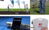 便携土壤水分温度速测仪手持土壤温度水分测量仪进口