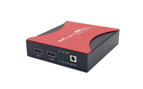 索鑫魔盒广电级4KHDMI分配器超高清4K2K60HZ一进四出一分四向下兼容分辨率