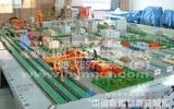 物流沙盤模型_西安外事國際物流陸港