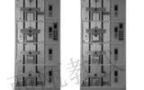 2DT4-FP-X C60 双联透明仿真教学电梯模型