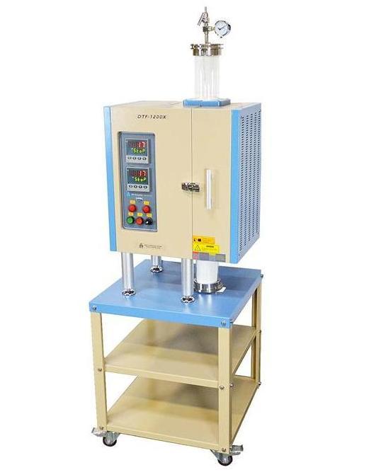 1200℃雙溫立式爐OTF-1200X-4-VT-II