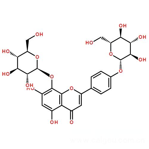 牡荆素葡萄糖苷,牡荆素葡萄糖苷76135-82-5,中药标准品,对照品