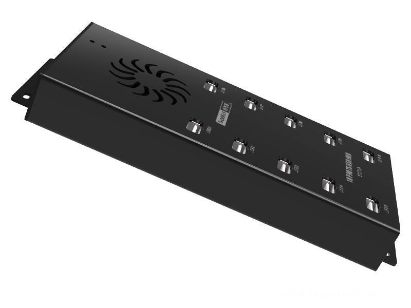 西普萊A-400 多接口HUB集線器10口USB2.0分線器手機平板批量刷機充電站