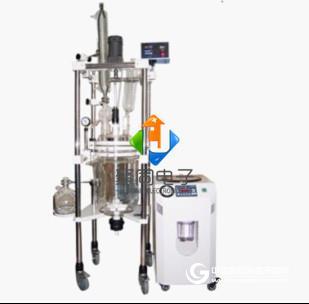 天津玻璃反應釜JT-50L中型雙層玻璃反應釜