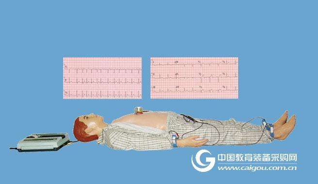 多種心電圖電腦模擬人,心電圖教學訓練模型