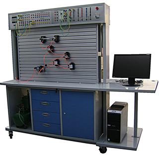 SQY型 PLC控制双面液压气动综合实验台