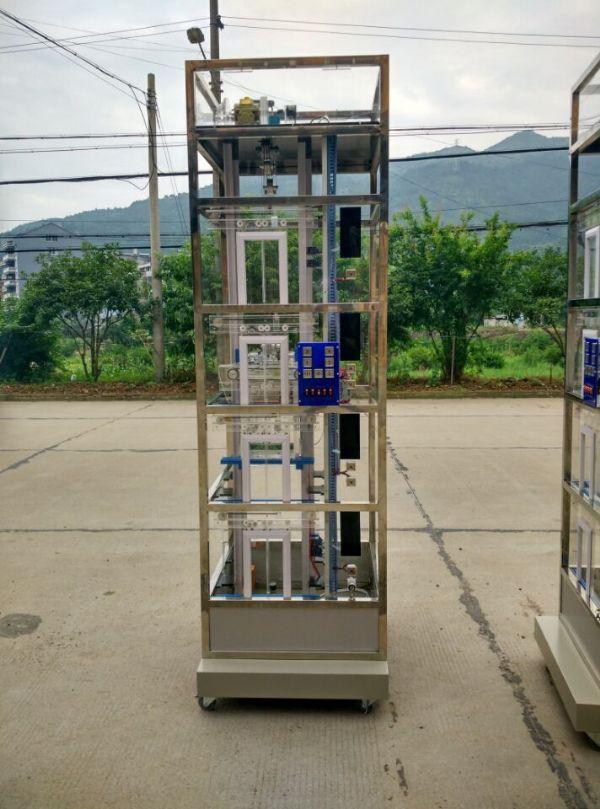 客、货两用透明仿真教学电梯,实训模拟电梯,电梯实训台