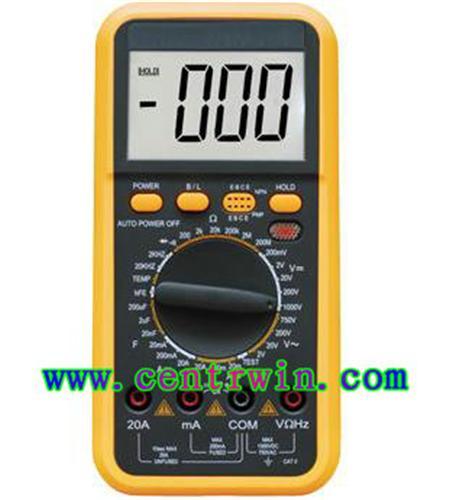 万用表/数字多用表(三位半精度)带电感 型号:SHLG-C9808+