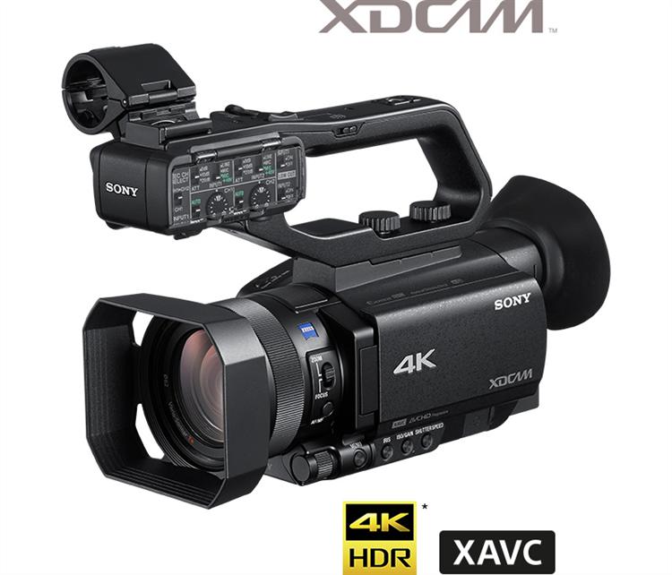 索尼FDR-AX700 4K HDR摄像机