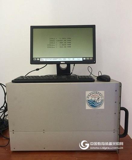 南沙海洋大气温室气体监测系统投入试运行