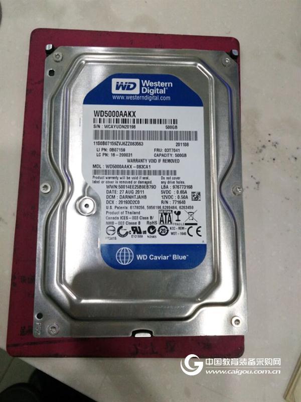 北京盛科维科技西部数据WD5000AAKX恢复成功