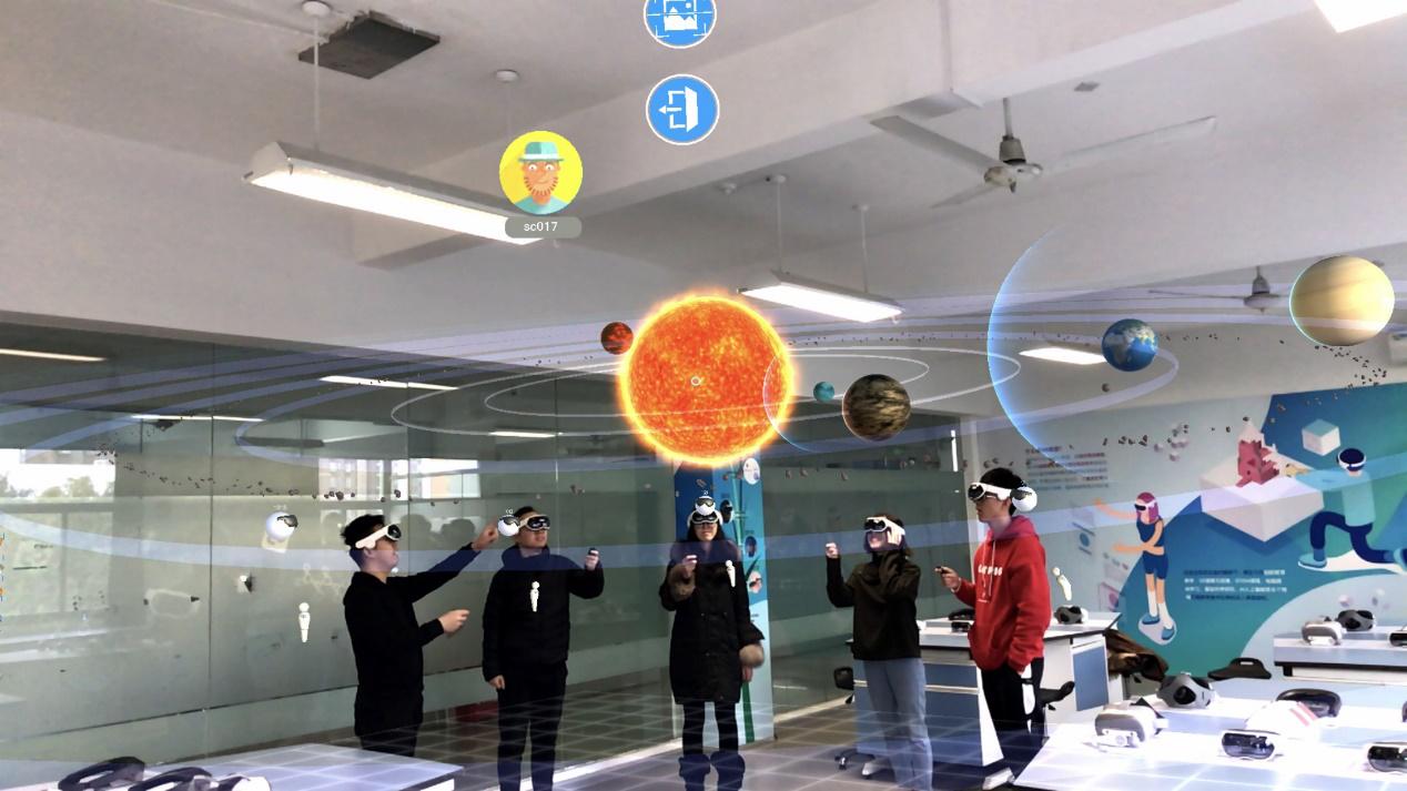 国内首创!影创科技携手建平中学打造K12混合现实全息教室