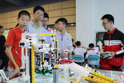 2019年浙江省中小学生智能机器人比赛成功举行