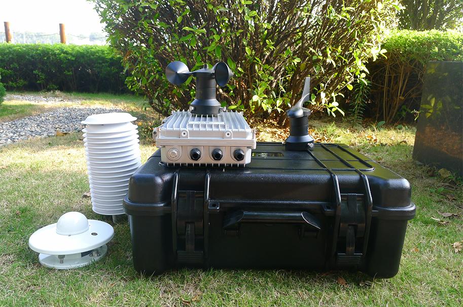 校园气象站设备应用于武汉理工大学